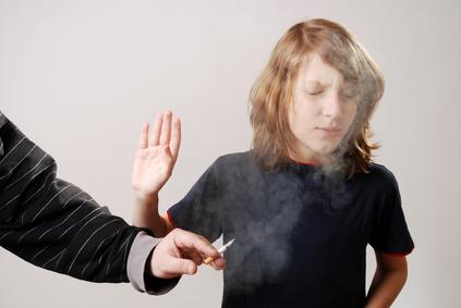 Zigarettenkonsum ist schädlich