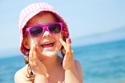 Sonnenschutz - Sonnenmilch