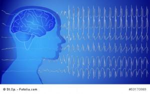 Medical Epilepsie Wallpaper blue