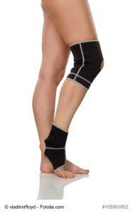 Bandagen: Knie- und Sprunggelenkbandage