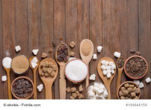 Zucker in seinen Formen