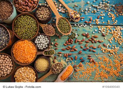 Hülsenfrüchte haben einen hohen Eisengehalt.