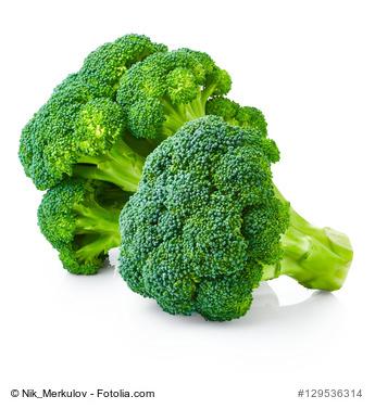 Brokkoli verfügt über viel Vitamin A