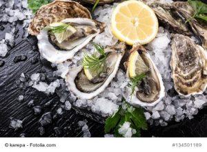 Austern enthalten sehr viel Zink