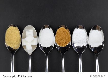 Verschiedene Zucker