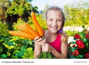 Möhren haben Vitamin A