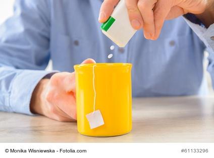 Süßstofftabletten Aspartam