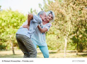 Osteoporose zeigt sich durch Rückenschmerzen