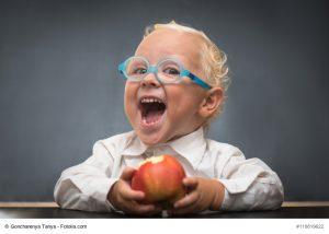 Apfel hat Vitamin C