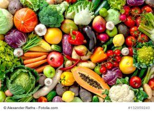 Gesunde Ernährung hilft Herpes-Ausbruch zu vermeiden