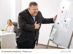 Herzinfarkt als Folge einer Fettstoffwechselstörung
