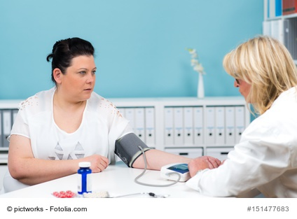 Hoher Blutdruck - ein Risikofaktor für Herzinsuffizienz