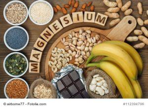 Magnesium in verschiedenen Lebensmitteln