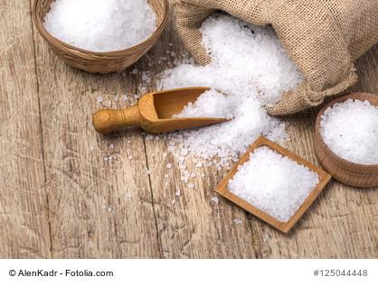 Salz Einsatz In Küche Medizin Und Kosmetik