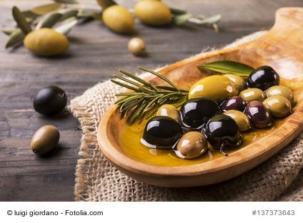 Oliven in Öl