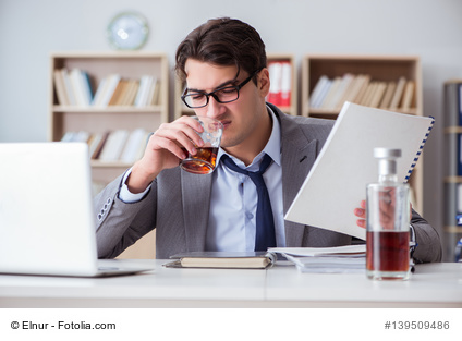 Stress und Alkohol