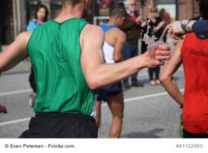 Isontonische Getränke für Sportler