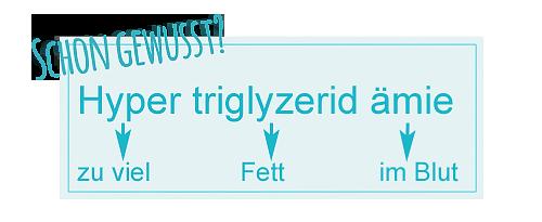 Hypertriglyzeridämie - Begriff erklärt