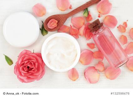 Tagescreme, Lotionen und Wässcherchen