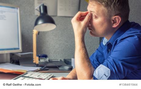 Schlafstörungen durch Stress
