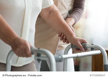 Morbus Parkinson - Schwierigkeiten bei Bewegungen