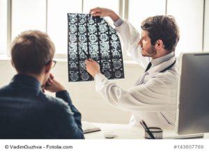Auswertung der Röntgenaufnahmen