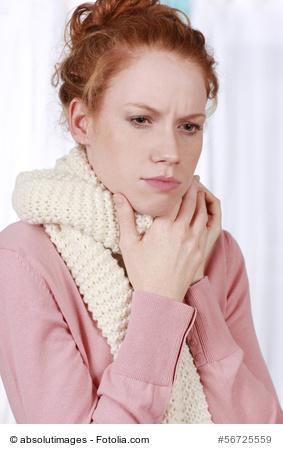 Rachenentzündung verursacht Halsschmerzen
