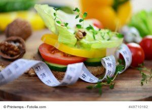 Gewicht reduzieren und halten durch gesunde Ernährung