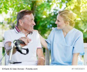 Schlaganfall-Patient