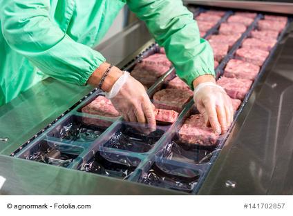 Rohes Fleisch und Salmonellen