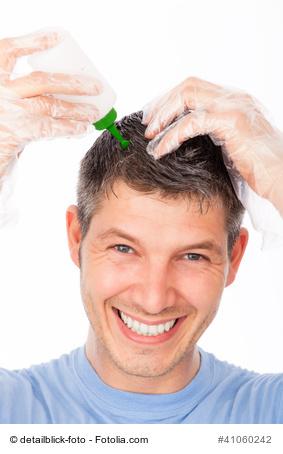 Man pflegt seine Haare