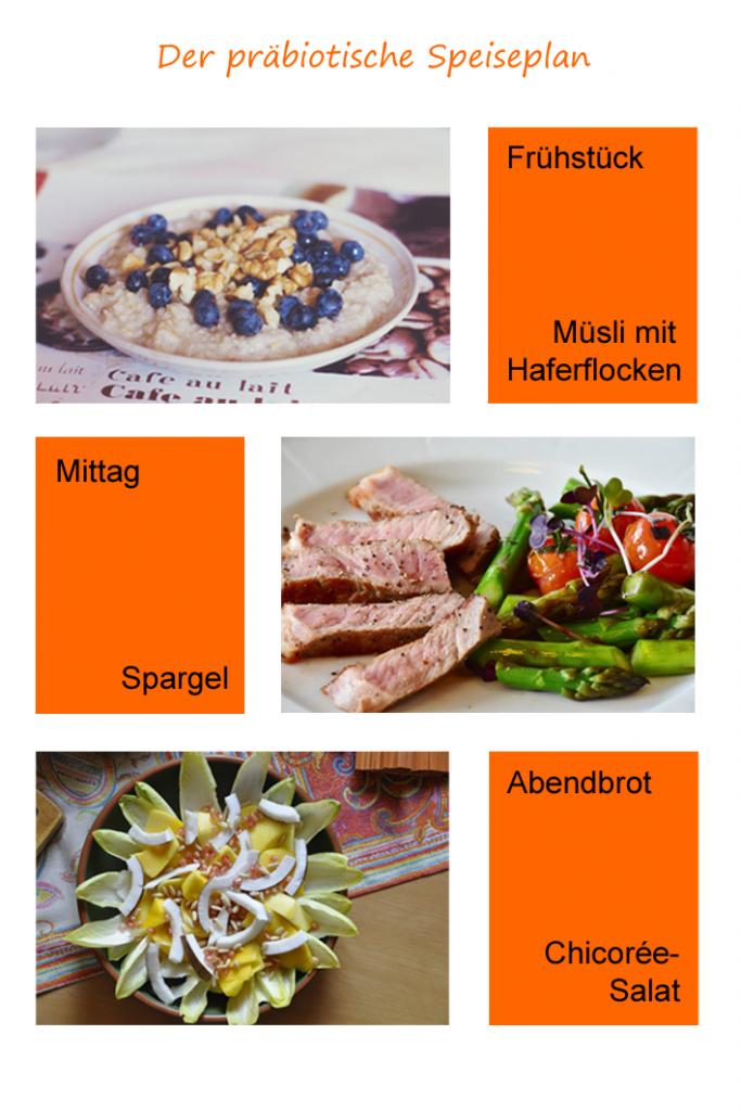 Präbiotische Lebensmittel im Speiseplan