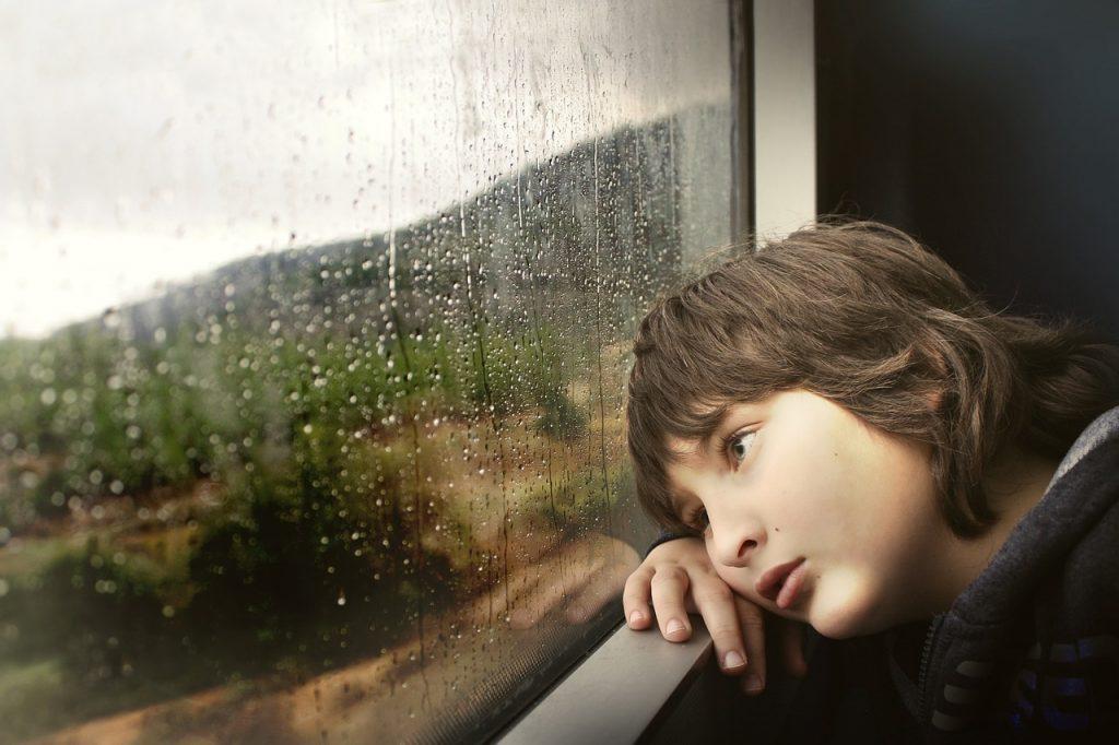 Kind auf Reisen