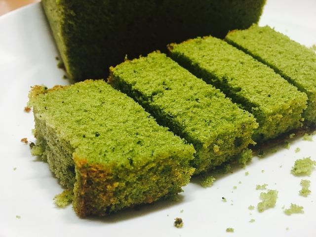 Matcha-Kuchen
