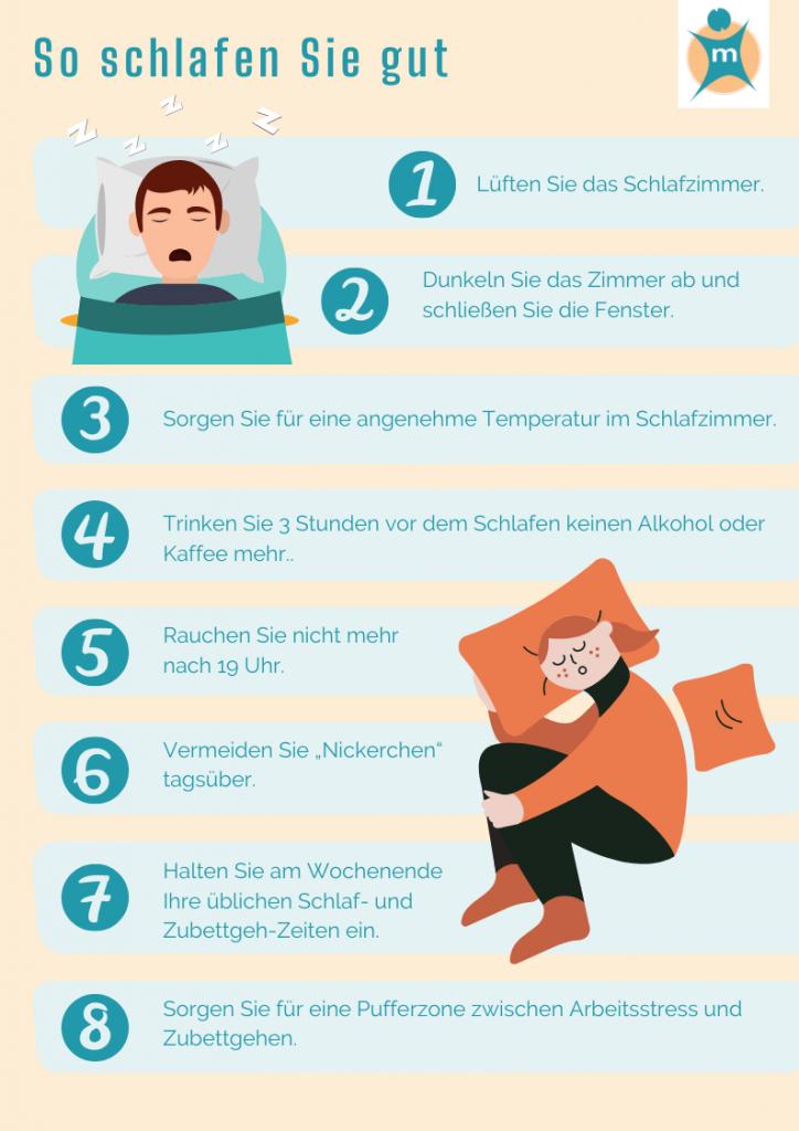Tipps gegen Schlaflosigkeit
