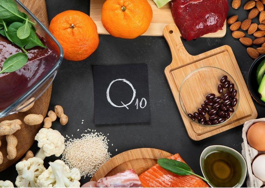 Coenzym Q10 in Lebensmitteln