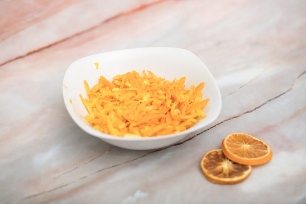 Orangenraspel