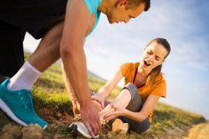Was tun bei Sportverletzung?