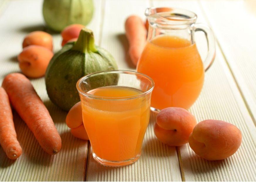 Aprikosen und Möhren