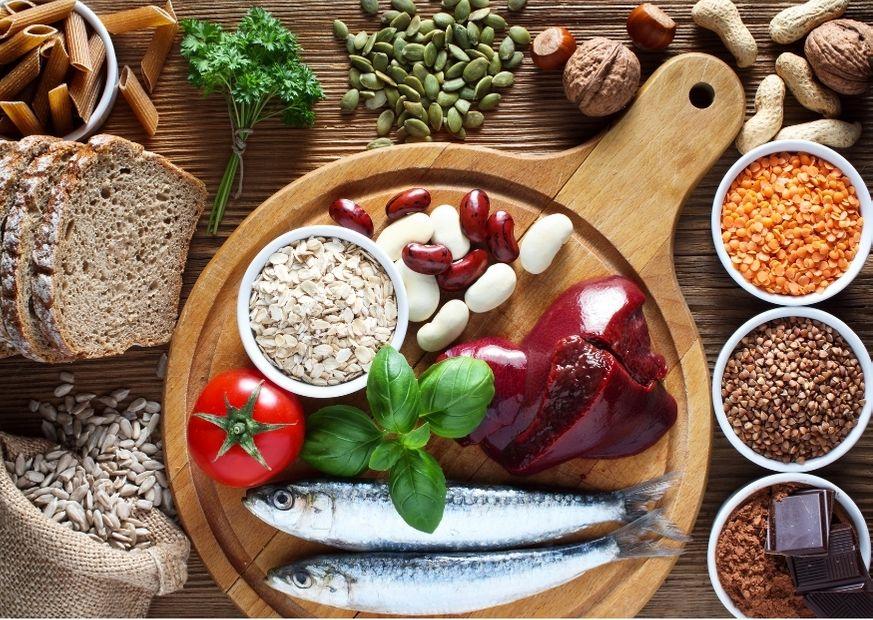 Kupferhaltige Lebensmittel