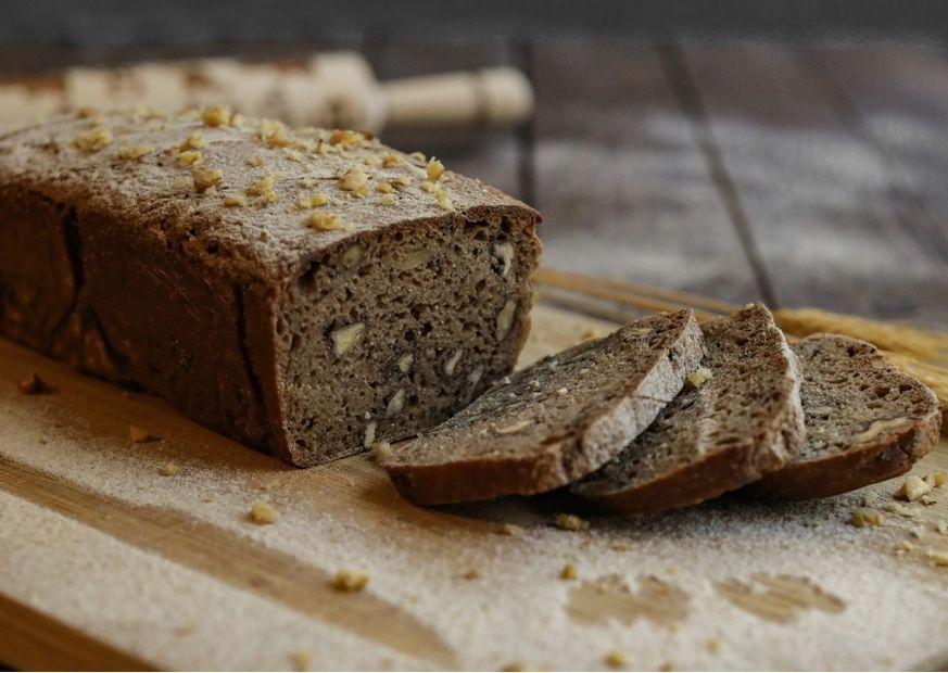Brot mit Walnüssen