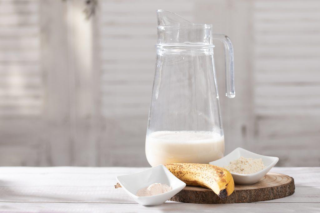Zutaten für einen Proteinshake
