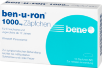BEN-U-RON 1.000 mg Suppositorien - Grippe & Fieber