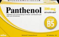 Panthenol 100 Mg Jenapharm Tabletten 50 St Medikamente Per Klick De