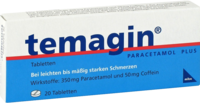 TEMAGIN Paracetamol Plus Tabletten - Schmerzen