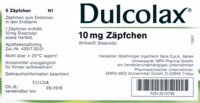 DULCOLAX Suppositorien - 30St - Abführmittel