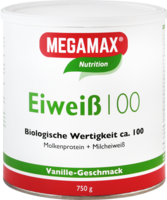 EIWEISS VANILLE Megamax Pulver - 750g - Energy-Drinks