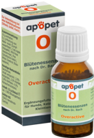 APOPET O Overactive Blüteness.n.Dr.Bach Glob.vet. - 12g - apopet
