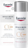 EUCERIN Anti-Age HYALURON-FILLER CC Cream hell - 50ml - Anti-Age