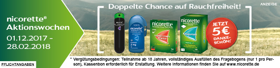 Nicorette Spray Promo